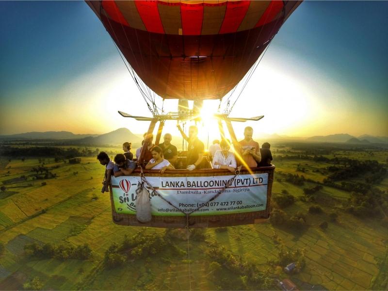 Sri Lanka Balloon Tour Sunrise