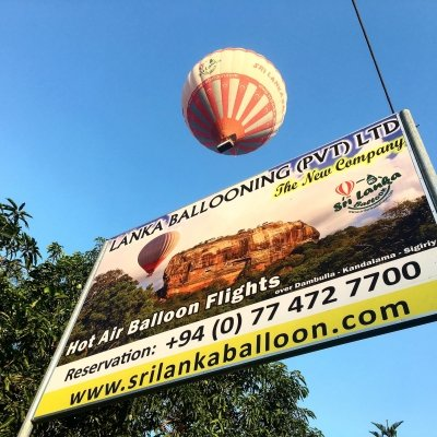 Hot Air Balloon Dambulla