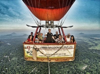 Hot Air Ballooning Sri Lanka Mahmut Sami Uluer Group Balloon Pilot