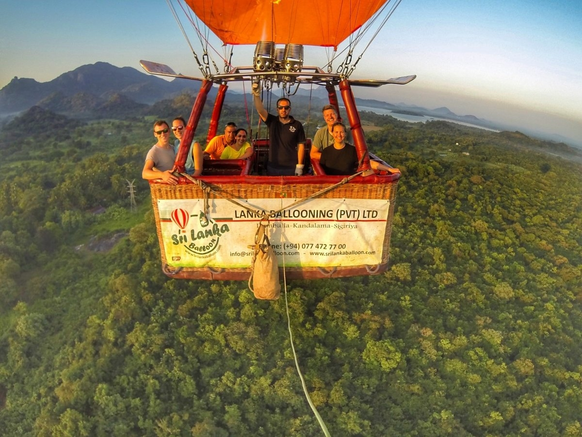 Sri Lanka Balloon Hot Air Ballooning Sri Lanka
